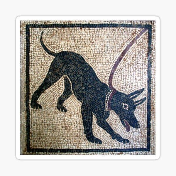 Cave canem- ancient Pompeii Sticker