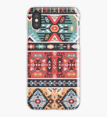 Bright pattern in tribal style iPhone Case/Skin