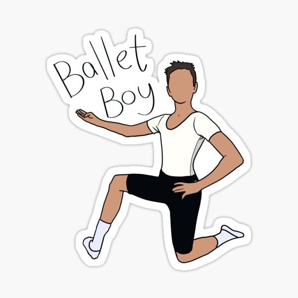 Ballet boy Sticker