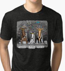 Camiseta de tejido mixto Hound Solo Tee