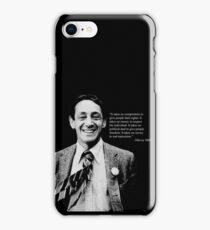 """Harvey Milk - """"Rights"""" Quote iPhone Case/Skin"""