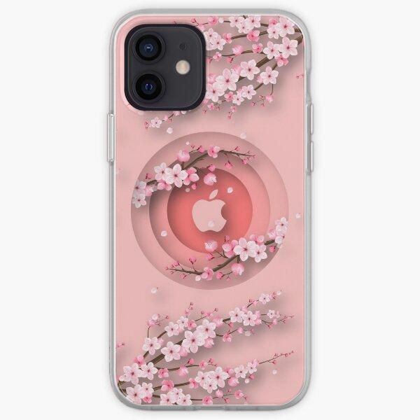 Flor de cerezo, Sakura japonesa 12 Pro Max Funda blanda para iPhone