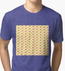 Orange and Lemon Tri-blend T-Shirt