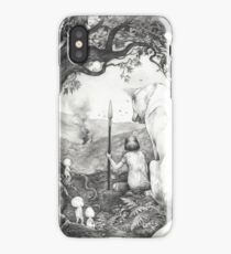Between the roots and the branches iPhone Case
