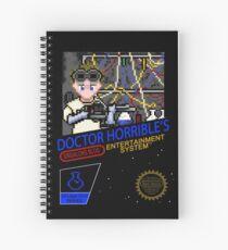 NINTENDO: NES DOCTOR HORRIBLE  Spiral Notebook