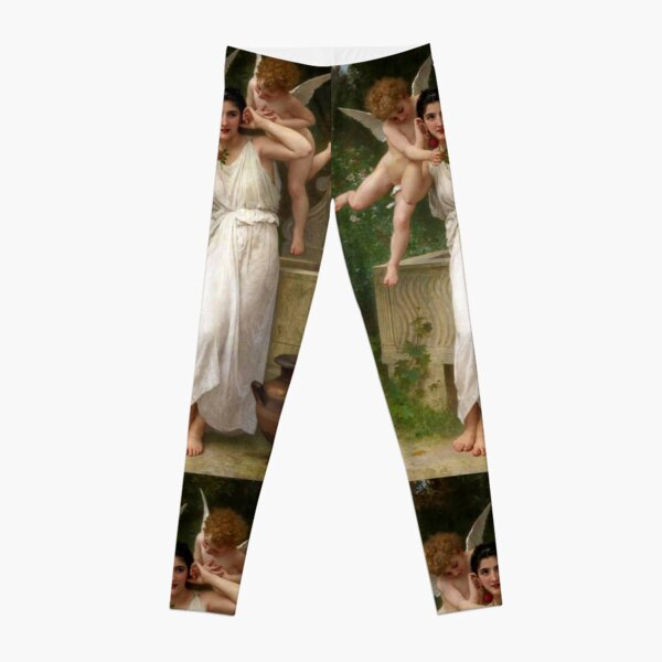 Realism Renaissance Famous Paintings: Youth, 1893, William-Adolphe Bouguereau Leggings