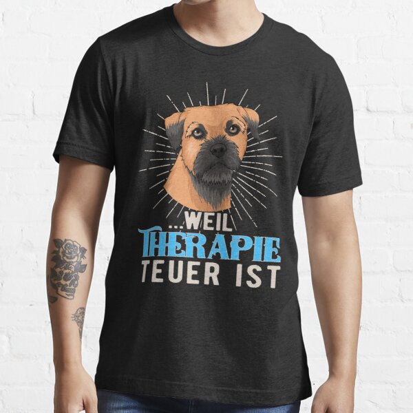 Awesome Border Terrier Owner   Fathers  T-Shirt   Funny Gift  Dog