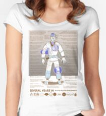 BJJ - Several Years In - Sepia Women's Fitted Scoop T-Shirt