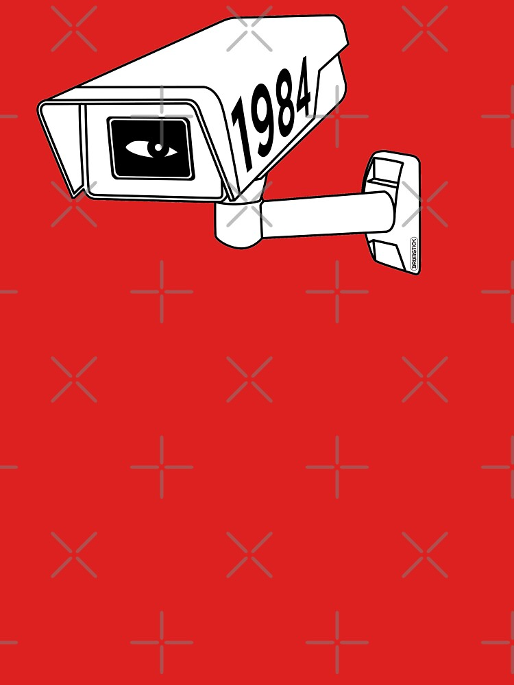 CCTV - George Orwell 1984 by thedrumstick