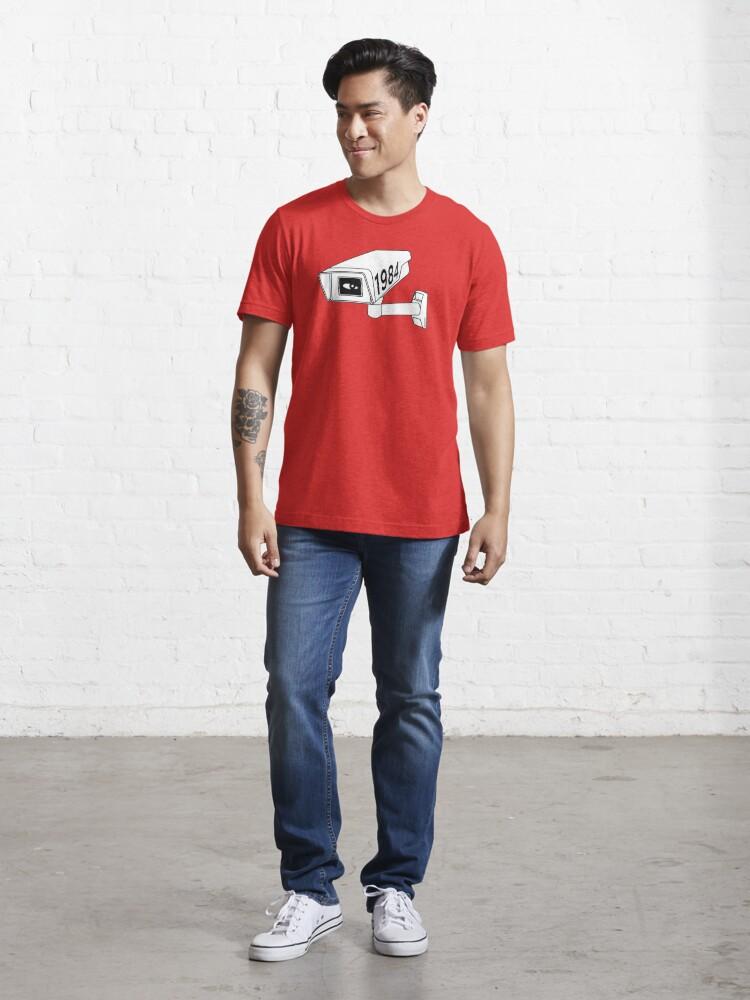 Alternate view of CCTV - George Orwell 1984 Essential T-Shirt