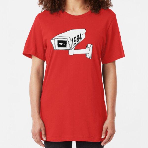 CCTV - George Orwell 1984 Slim Fit T-Shirt