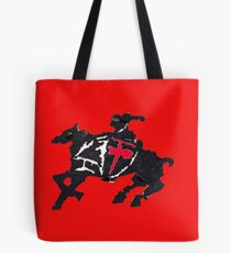 Horse And Knight Tote Bag