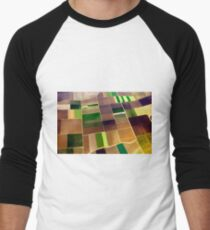 Farmland Men's Baseball ¾ T-Shirt
