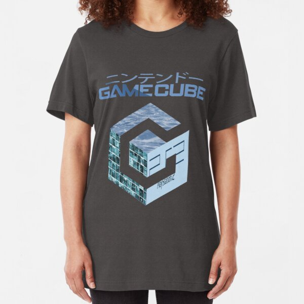 Vaporwave Gamecube Slim Fit T-Shirt