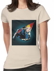 Diabolik and Eva Kant in the cut Womens Fitted T-Shirt