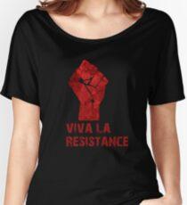 Viva La Resistance Women's Relaxed Fit T-Shirt