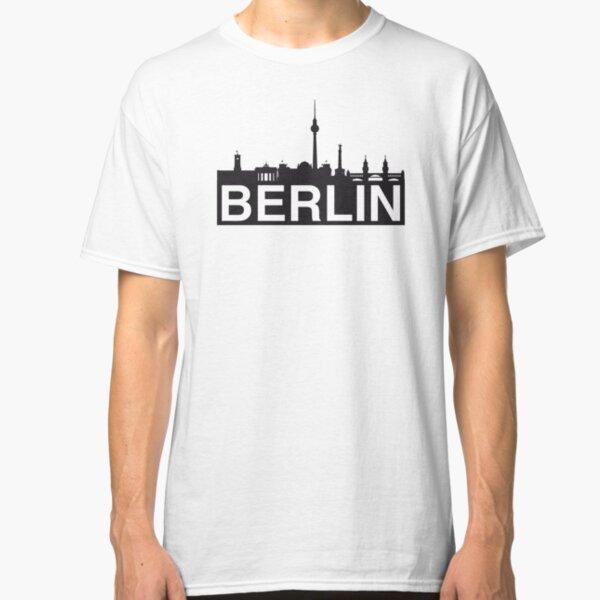 Berlin skyline Classic T-Shirt