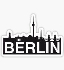 berlin skyline Sticker