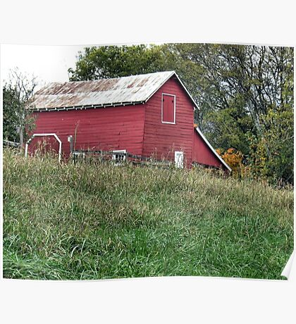 """""""Red Barn""""... prints and products Poster"""