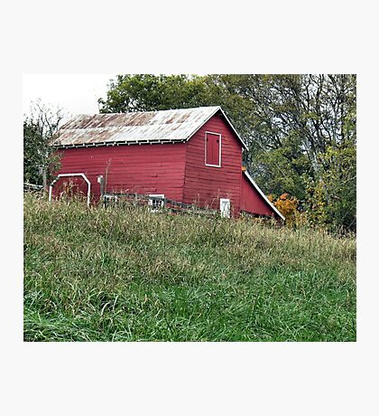 """""""Red Barn""""... prints and products Photographic Print"""