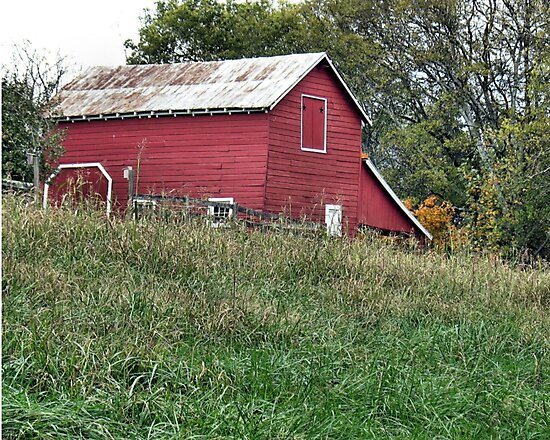 """Red Barn""... prints and products by Bob Hall©"