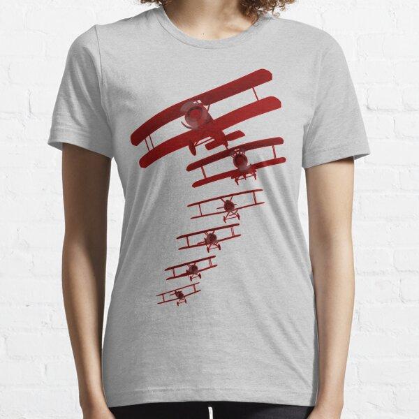 Retro Biplane Graphic Essential T-Shirt