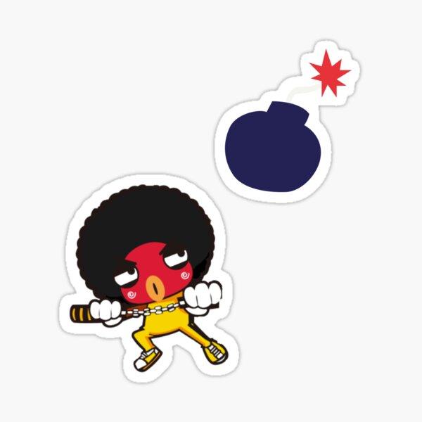 nunchaku Sticker