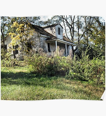 """""""The Old Home Place""""... prints and products Poster"""