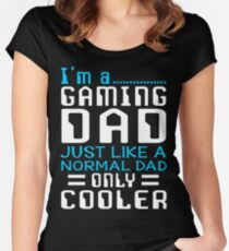 I'm a Gaming Dad Women's Fitted Scoop T-Shirt