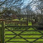 Starveall cottage and garden by Robertsphotos