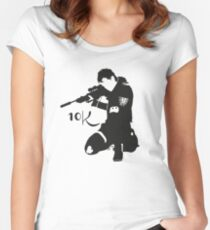 Z nation - 10K  Women's Fitted Scoop T-Shirt