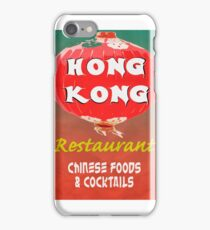 Vintage Chinese Restaurant Poster iPhone Case/Skin