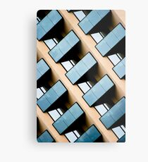 Rectangles and Reflection Metal Print