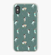 Oikawa Tooru Pattern - green iPhone Case