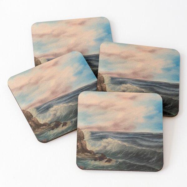 Ocean Breeze Coasters (Set of 4)