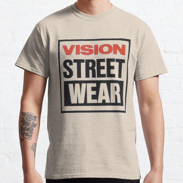 Vision street wear, retro skateboard t shirt design. Classic T-Shirt