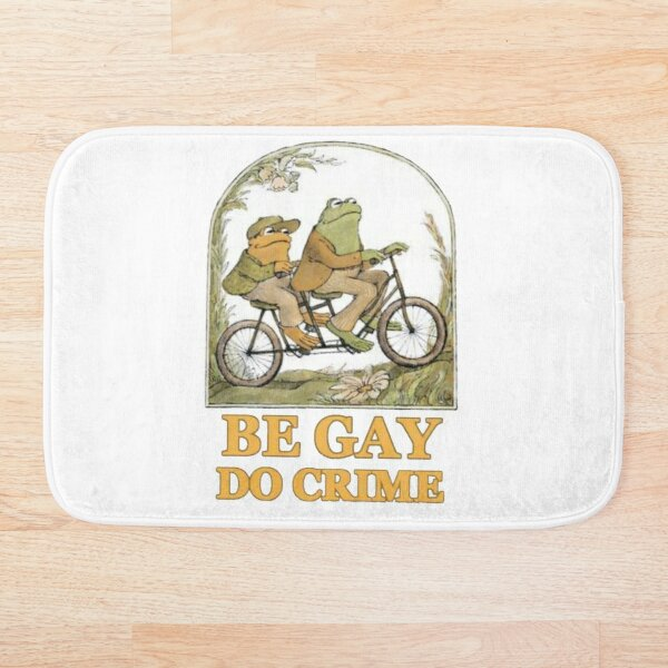 Be gay, do crime Bath Mat