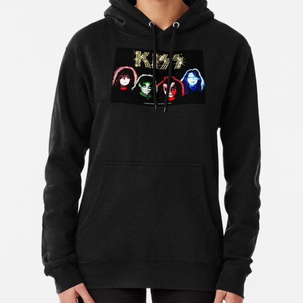 KISS Solo Album Art - Together Pullover Hoodie