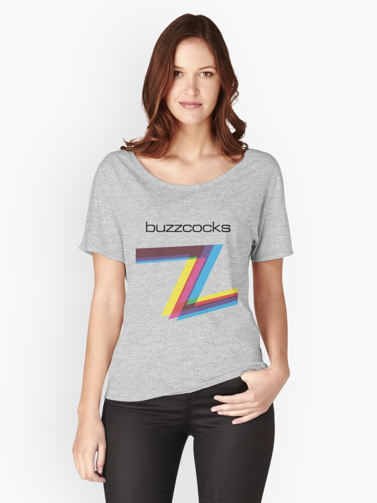 Buzzcocks Women's Relaxed Fit T-Shirt Front