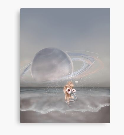 How did I get here, how can I go home. Canvas Print