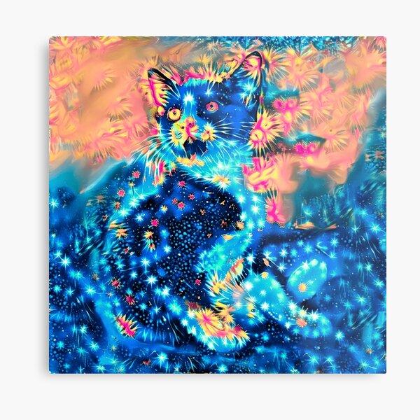 Tuxedo Kitten Metal Print