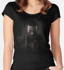 Murphy portrait - z nation Women's Fitted Scoop T-Shirt