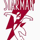 Starman: a new superhero is born by logoloco