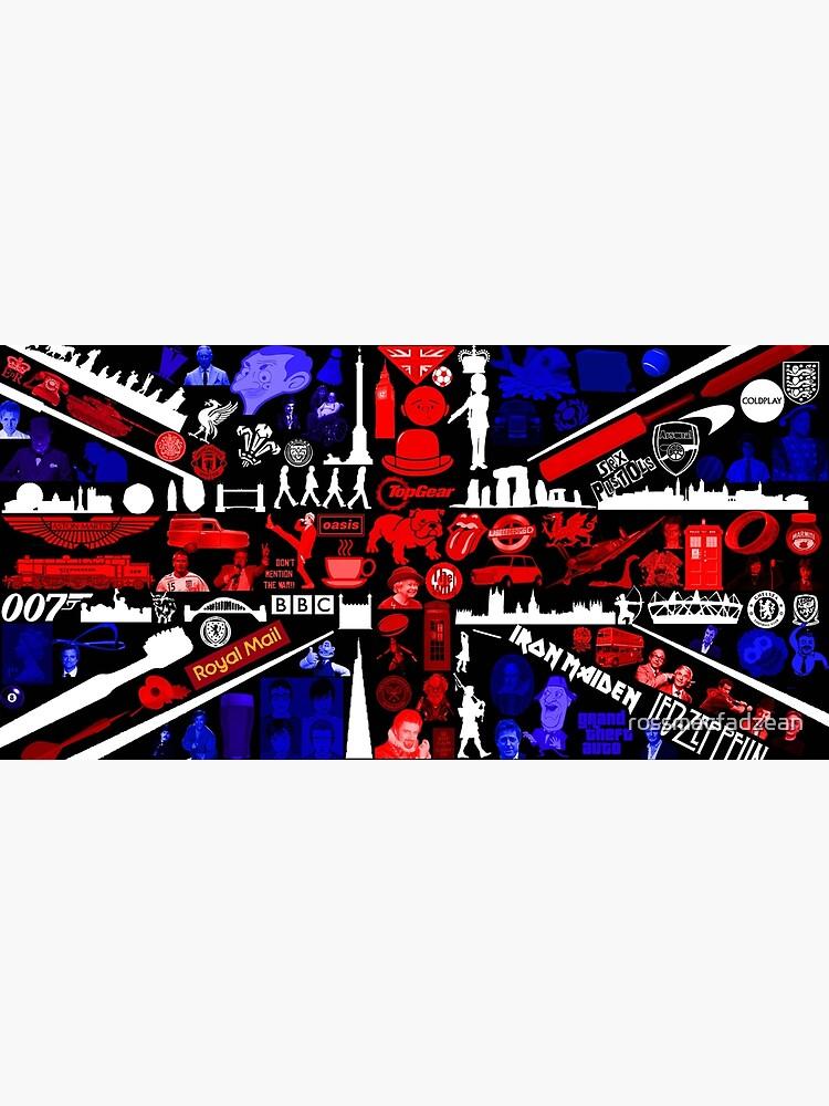 Union Flag Culture Collage  by rossmacfadzean
