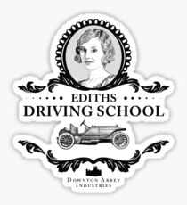 Lady Edith - Downton Abbey Industries Sticker