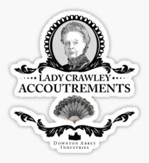 Lady Crawley - Downton Abbey Industries Sticker