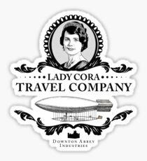 Cora Crawley - Downton Abbey Industries Sticker