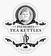 Patmores Tea Kettles - Downton Abbey Industries Sticker