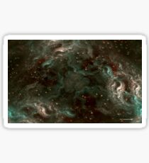 The Cannabis Milky Way Sticker