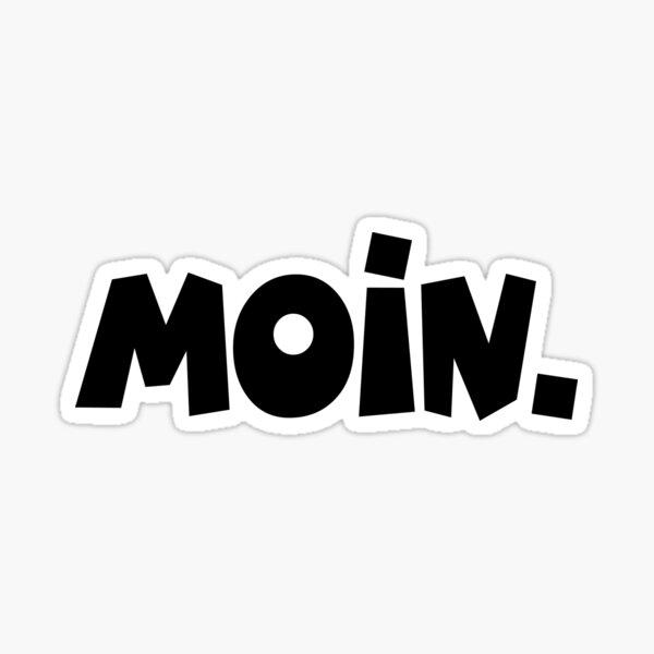 Moin - Guten Morgen Gruß Sticker